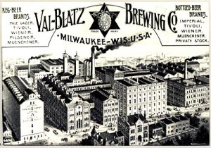 1891 Lithograph of Brewery